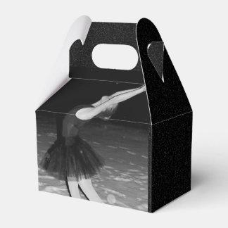 Bailarina en la nieve - cajas para regalos de fiestas