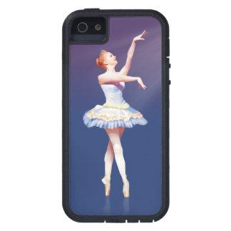 Bailarina en Pointe en proyector Funda iPhone SE/5/5s