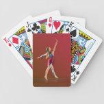 Bailarina en rojo cartas de juego