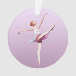 Bailarina en rosa y lavanda