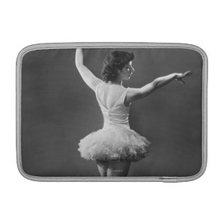 Bailarina en tutú funda macbook air