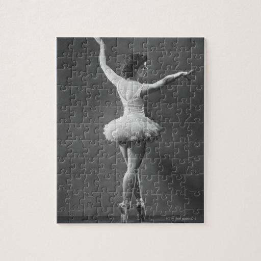 Bailarina en tutú puzzle con fotos