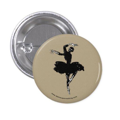 bailarina esquelética pin