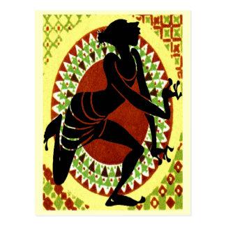 Bailarina exótica postales