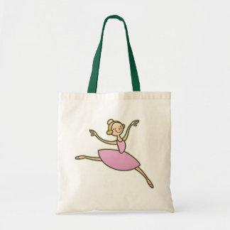 Bailarina hermosa bolsas