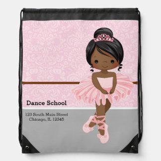 Bailarina linda mochila