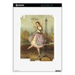 Bailarina parisiense calcomanía para iPad 2