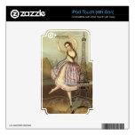Bailarina parisiense skins para iPod touch 4G