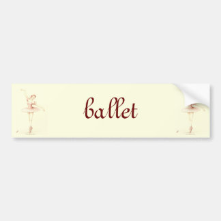 Bailarina Pegatina Para Auto