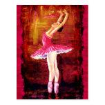 Bailarina Postal