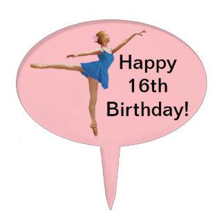 Bailarina, primero adaptable de la torta decoración para tarta