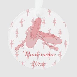 Bailarina rosada personalizada de los deslizadores