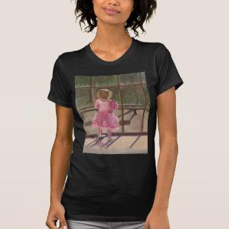 bailarina rosada camiseta