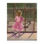 bailarina rosada postales