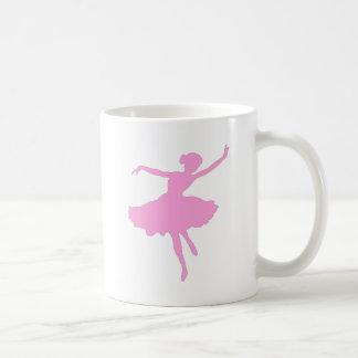 Bailarina rosada taza