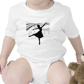 Bailarina Todo mojado Camisetas
