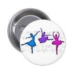 Bailarinas del día del ballet pin