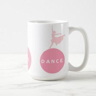 Bailarinas vivas de la danza del amor - rosa - taza
