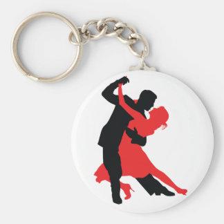 Bailarines 1 llavero personalizado