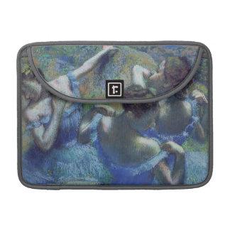 Bailarines azules, c.1899 (en colores pastel) funda macbook pro