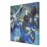 Bailarines azules, c.1899 impresión de lienzo