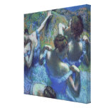Bailarines azules, c.1899 impresión en lienzo estirada