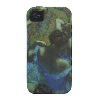 Bailarines azules de Edgar Degas, impresionismo iPhone 4/4S Fundas