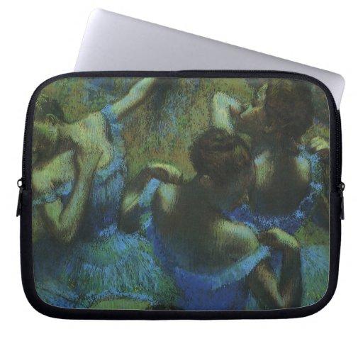 Bailarines azules de Edgar Degas, impresionismo Manga Computadora