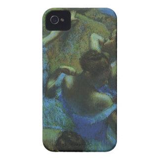 Bailarines azules de Edgar Degas, impresionismo Funda Para iPhone 4