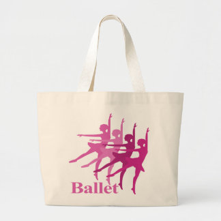 Bailarines de ballet bolsa tela grande