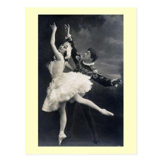 Bailarines de ballet del vintage