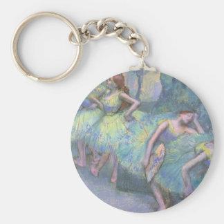 Bailarines de ballet en las alas de Edgar Degas Llaveros Personalizados