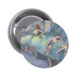 Bailarines de ballet en las alas de Edgar Degas Chapa Redonda 5 Cm