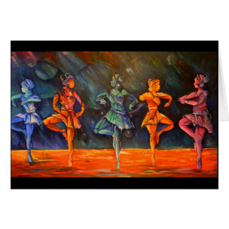 Bailarines de ballet II por Timothy Orikri Tarjeta De Felicitación