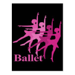 Bailarines de ballet postal