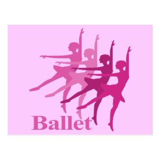 Bailarines de ballet tarjetas postales