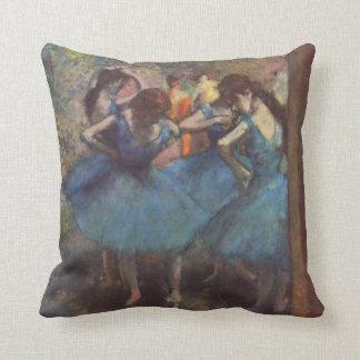 Bailarines de Edgar Degas en (1895) almohadas de