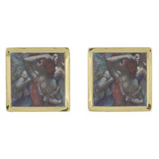 Bailarines de Edgar Degas Gemelos Dorados