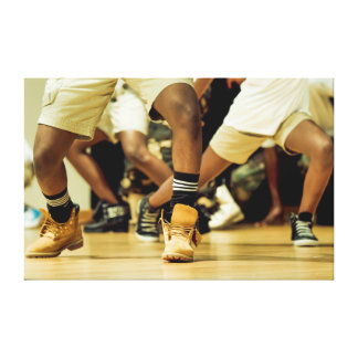 Bailarines de Hip Hop Impresiones En Lienzo Estiradas