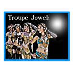 Bailarines de Joweh de la compañía Tarjeta Postal