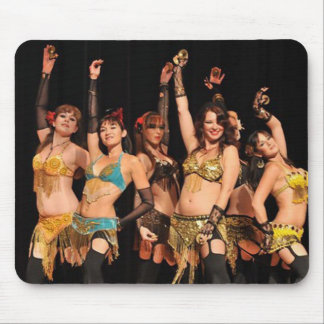 Bailarines de Joweh Mousepads