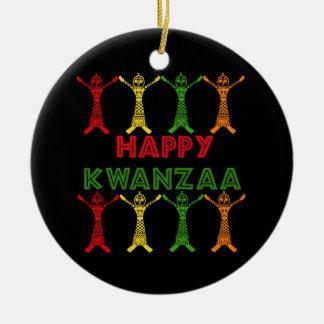 Bailarines de Kwanzaa Ornamentos De Reyes Magos