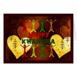 Bailarines de Kwanzaa Felicitaciones