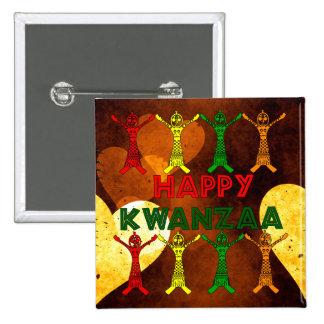 Bailarines de Kwanzaa Pin