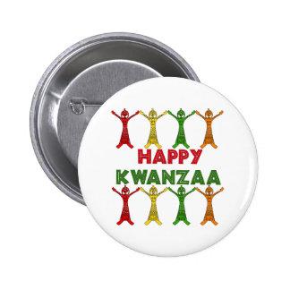 Bailarines de Kwanzaa Pins