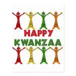 Bailarines de Kwanzaa Postal