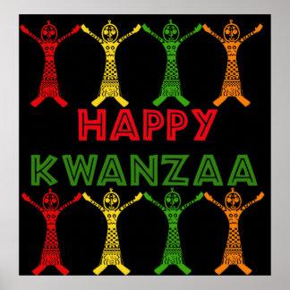 Bailarines de Kwanzaa Póster
