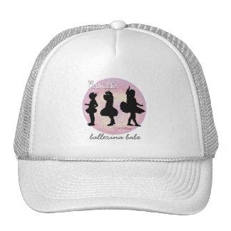Bailarines de la bailarina gorros bordados