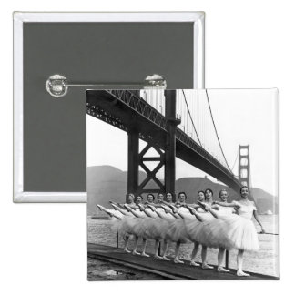 Bailarines de puente Golden Gate Pin