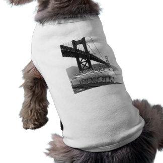 Bailarines de puente Golden Gate Playera Sin Mangas Para Perro